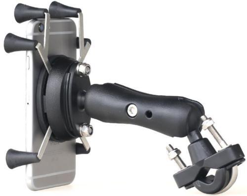 Общего качества Пластик мотоциклетные Руль управления для мотоциклов рейку X-Grip сотовый телефон смартфон держатель для Iphone для крепления о...