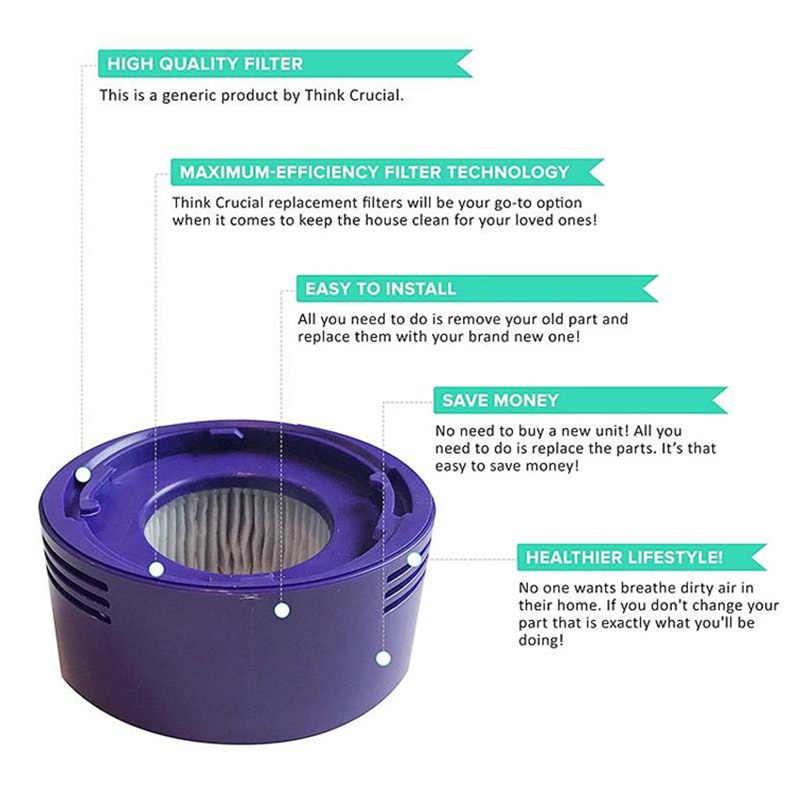 1 Pcs 967478-01 Filter, post Filter voor Dyson-V8-Animal en Dyson V8 Absolute vs Dyson V7 Cordless Vacuum Vervangen Filter