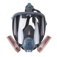 6800 전체 얼굴 호흡기 안전 가스 마스크 유기 증기 호흡기 보호 페인트 농약 화학 활성 탄소