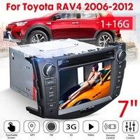 7 дюймов 2Din автомобильный мультимедийный плеер для автомобиля видео GPS стерео радио 16G 1024x600 для Toyota RAV4 2006 2007 2008 2009 2010 2011 2012