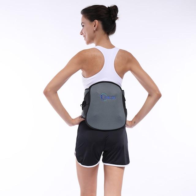 Lumbar Back Spinal Spine Waist Brace Support Belt Corset Stabilizer Cincher Tummy Trimmer Trainer Weight Loss Slimming 3