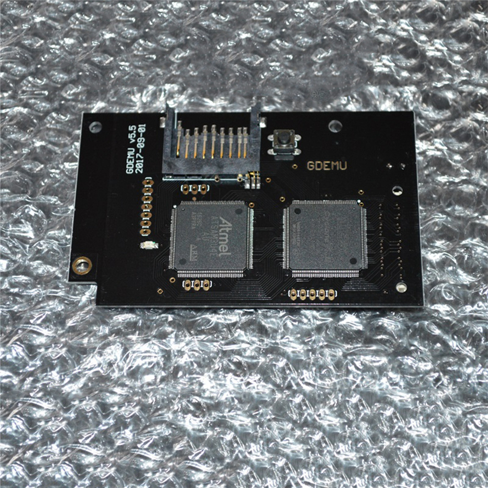Optical Drive Simulation Board For GDEMU Sega DC Dreamcast 2017 Version Disc Emulator SD Card Free Disk Free Drive Motherboard