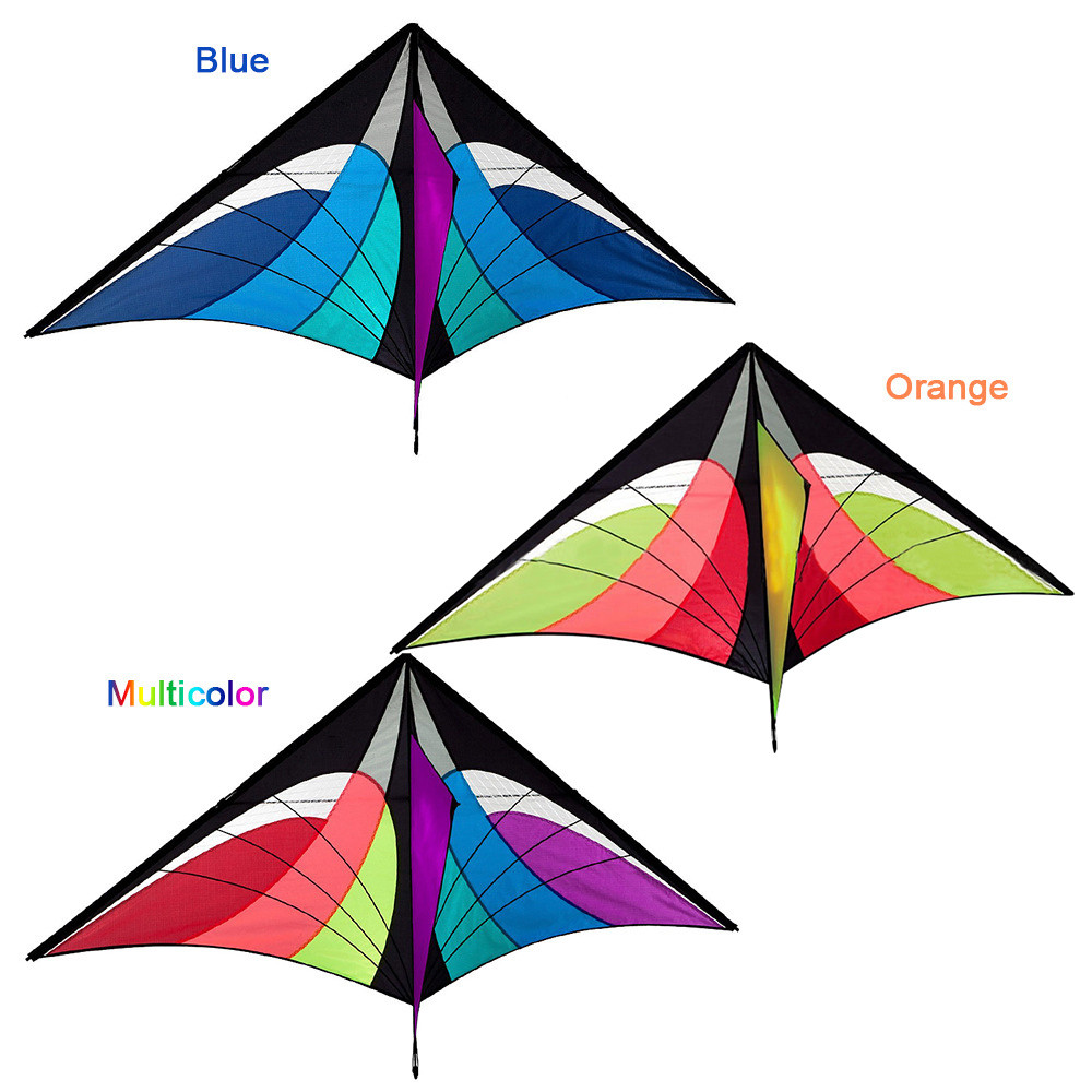 New Cute New Stunt Power Kite Outdoor Sport Fun Toys Novelty Dual Line Delta Kite High Quality Gift Drop Shipping