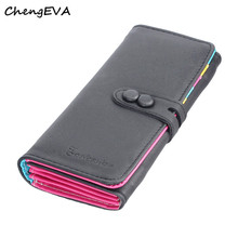 2016 New Fashion Hot Sale Attractive Elegant Luxury Wallet Small Fresh Wallet Mobile Phone Bag Free Shipping Dec 15