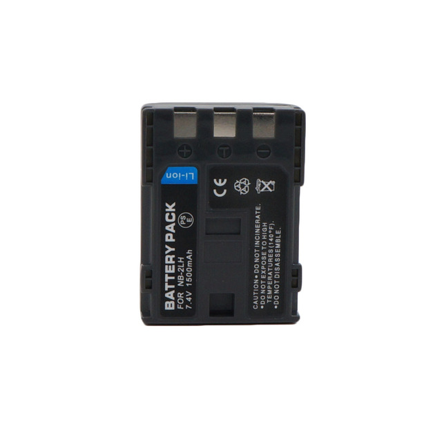 1500mAh NB-2L NB 2L NB2L NB-2LH NB 2LH Digital Camera Battery Pack For Canon Rebel XT XTi 350D 400D G9 G7 S80 S70 S30