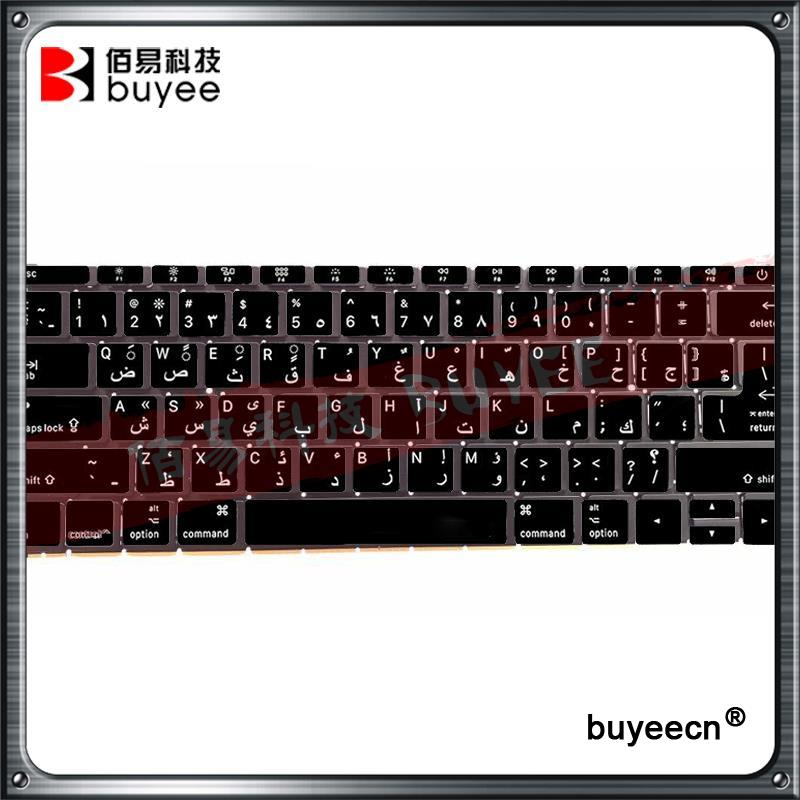 Original 12 Inch A1534 Arabic Keyboards For Macbook Air Retina A1534 AR Keyboard 2016 Year MLHA2 MLHC2 Replacement laptop keyboard for acer silver without frame arabic ar v 121646cs2 ar aezqsq00110