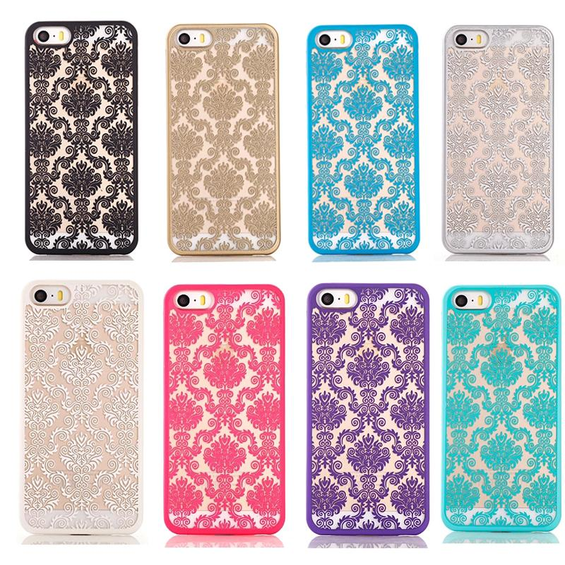 new concept 27c18 7f6a1 US $2.99 |Phone case for Apple iphone 6 6s case 4.7 inchVintage Flower  Pattern Fashion Luxury phone Back Cover on Aliexpress.com | Alibaba Group