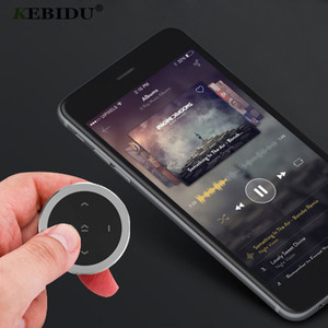Image 5 - Kebidu Wireless Bluetooth Media Steering Wheel Remote Control mp3 Music Play for Android IOS Smartphone Control Car Kit Styling