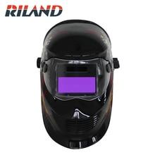 RILAND CLOWN X902T Auto Darkening Welding Helmet Mask cap Arc Tig Mig Grinding Solar Powered Welding Cap  - buy with discount
