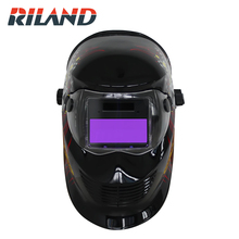 RILAND CLOWN X902T Auto Darkening Welding Helmet Mask cap Arc Tig Mig Grinding Solar Powered Cap