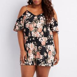 2017 new fatty women plus size 4xl rompers summer floral print v neck jumpsuit new playsuits.jpg 250x250