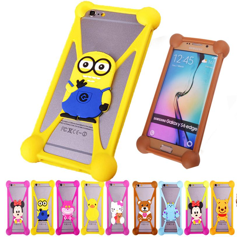 buy online d00f5 01079 US $2.89 |Cute Cartoon Silicone Universal Cell Phone Fundas Cases For BLU  Dash X LTE Plus Life 8 XL Life One M X Case Silicon Coque Cover on ...
