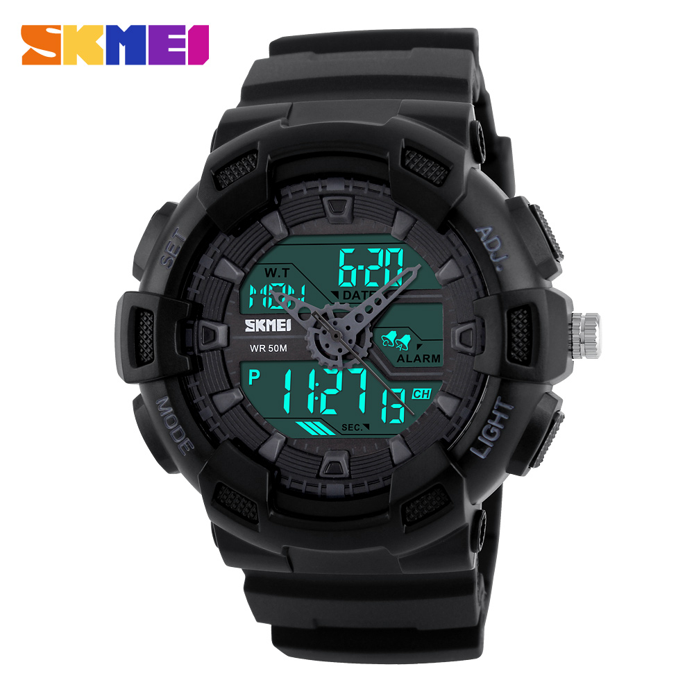 2017 Luxury Brand SKMEI Fashion Watches Men Digital Casual watch Waterproof Military Relogio Masculino Sport Men Wristwatch