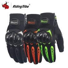 Riding Tribe Motorcycle Gloves moto racing gloves Guantes Moto Gants Luvas Touch Screen Motocross Gloves Black orange green