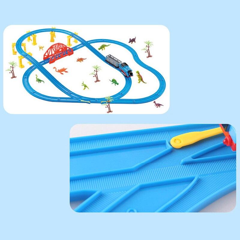 45 pièce/ensemble série de la ville la série de Train de fret mis modèle blocs de construction briques RC Train enfants jouets éducatifs cadeau pour enfant - 5