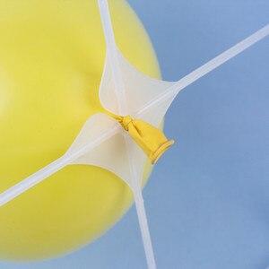 Image 3 - 20 adet/grup Balon duvar ızgaraları lateks balon modelleme aksesuarları plastik 4 & 9 delik balon ızgara doğum günü düğün parti dekor