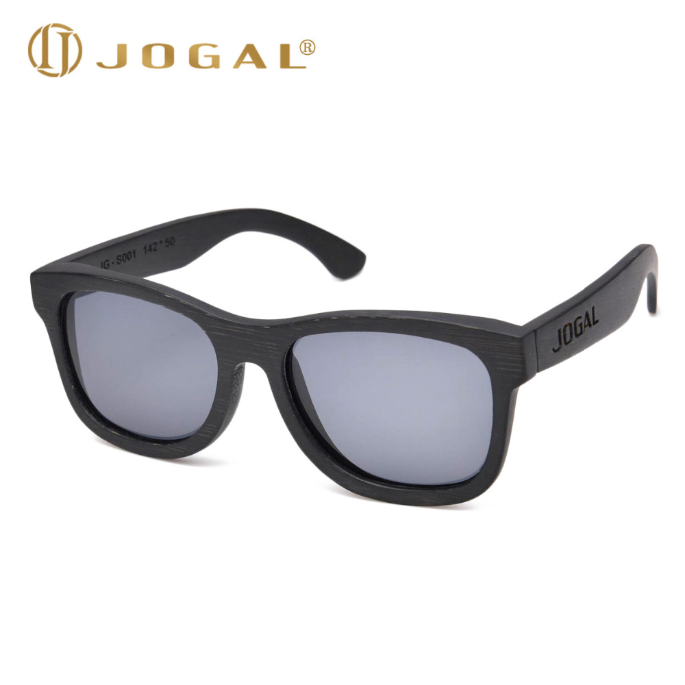 168140a0de JOGAL 100% Natural Bamboo Wooden Sunglasses Handmade Polarized Mirror  Coating Lenses Eyewear Women Men Oculos de sol 001-in Sunglasses from  Apparel ...