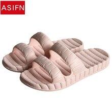 45880af8a45 ASIFN Women Sandals and Slippers Summer Indoor Bathroom Bathe Anti-slip  Wearable Thick Crust Household Couples Men flip flops