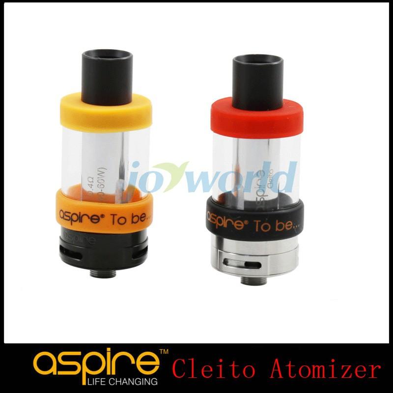 Original Aspire Cleito Atomizer Tank Kit 3.5ML Clearomizer Pyrex Tank 0.2ohm 0.4ohm Sub Ohm Atomizer Tank 1PcsLot (3)