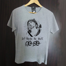 acdc bloody guitar new design t shirt vintage fashion