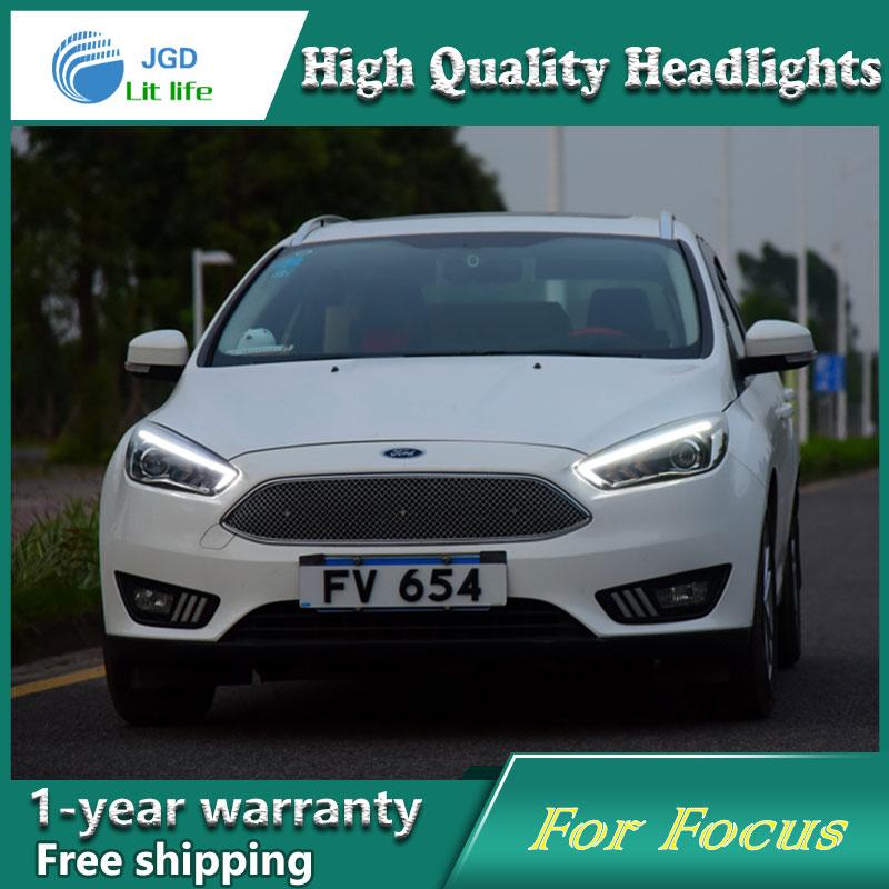 Ford Focus 2015 fənərləri üçün işıqlandırma üçün - Avtomobil işıqları - Fotoqrafiya 5