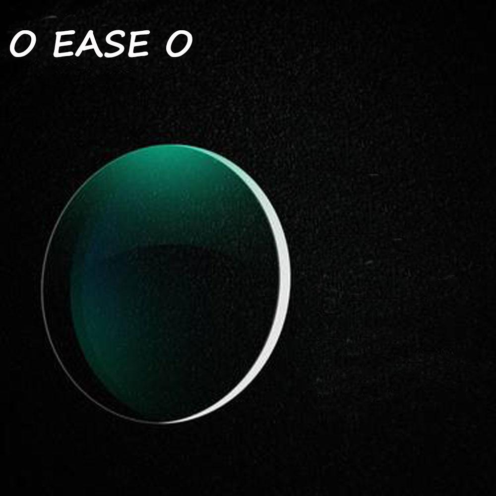 1.61 High Index Thin Clear Optical Lenses HMC EMI Anti-UV Myopia Hyperopia Radiation Protection Asphere Prescription Lens