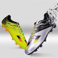 Hombres niños fútbol zapatos mujeres césped interior futsal TF botas de  fútbol adolescentes entrenamiento zapatillas( 86fa6e3a02b15