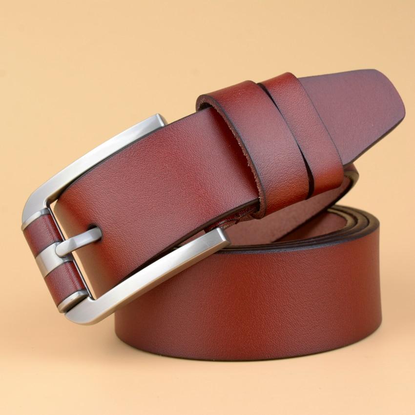 Ny motedesigner Berømte merke Luksusbelter Menn Ekte skinnbelter - Klær tilbehør - Bilde 4