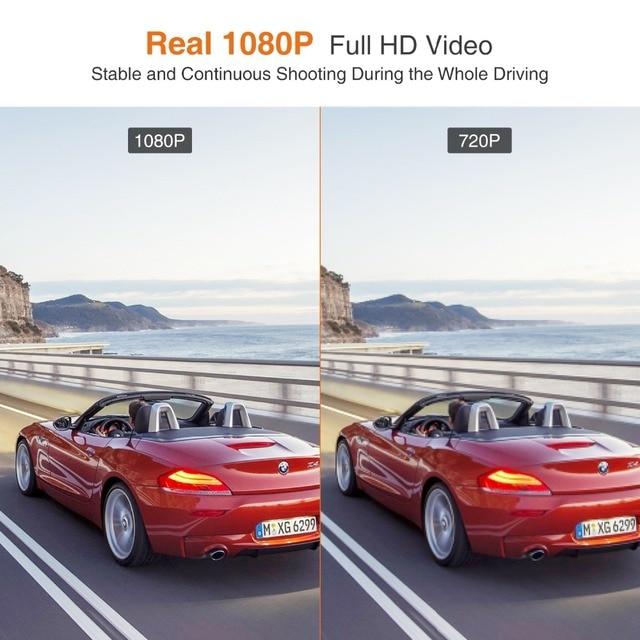 New Dash Cam Safeel Zero Car DVR dash camera Real HD 1080P 170 Wide Angle dashcam With G-Sensor Parking Mode car camera Recorder 4