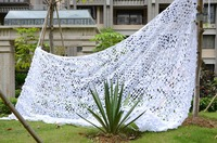 VILEAD 8M x 9M (26FT x 29.5FT) White Digital Camouflage Net Garden Swing Military Army Camo Netting Sun Shelter Shade Sail Tent
