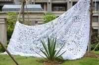 Vilead 8 м x 9 м (26ft x 29.5ft) белый цифровой камуфляж чистая садовые качели Военная Униформа камуфляж сетка Солнечные укрытия Тенты паруса палатка