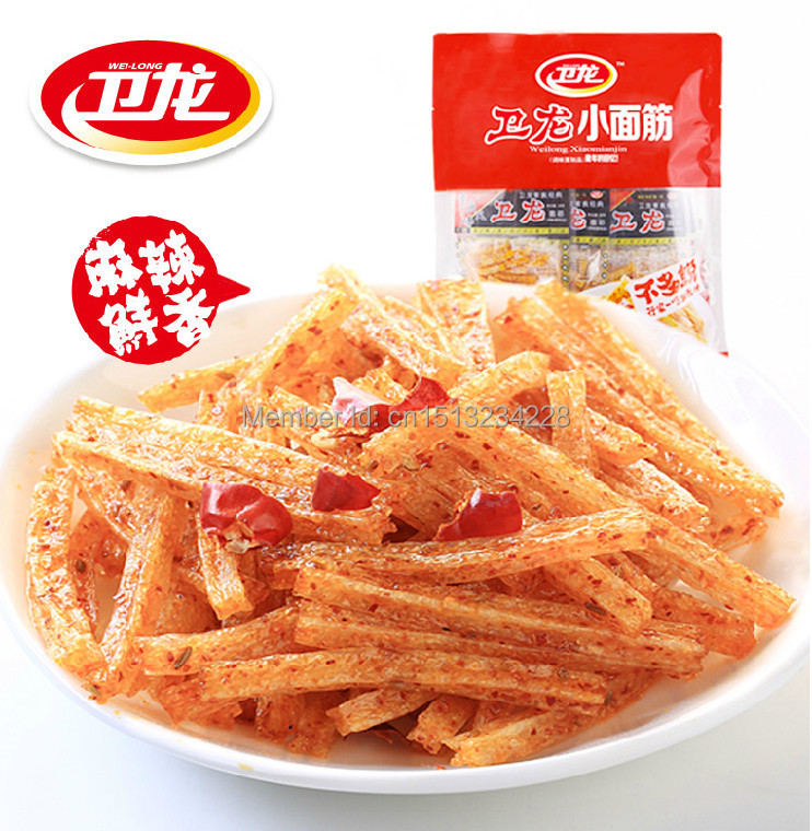 Spicy Sticks!Chinese specials~3x68g/bags spicy sticks!You