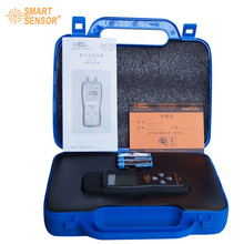 With Box Smart sensor Brand AS510 Differential Pressure Meter Manometer 0~100hPa  negative vacuum pressure meter