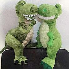 40 cm Toy Story 3 Rex el dinosaurio verde felpa Animal relleno del juguete  de la muñeca cumpleaños Navidad Año nuevo regalo (boc. efafa8e6a06