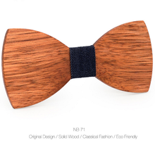 Wood Bow Tie Mens Wooden Bow Ties Party Business Butterfly Cravat Party Ties For Men Wood Ties Women Kids
