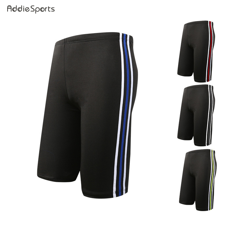 Summer Mens swimming trunks New arrival Five sub pants Beach Stripe splicing shorts plus size Obesity shorts 80-130KG A18141