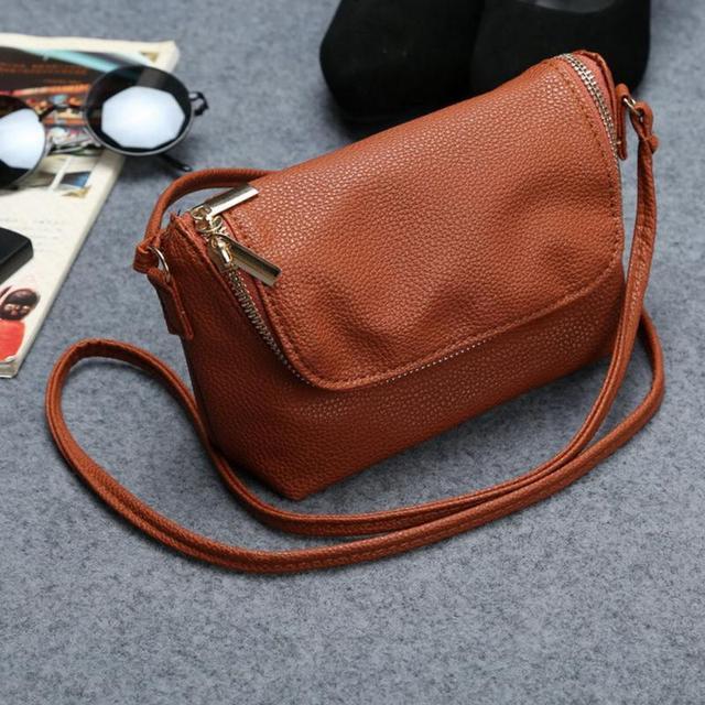 2018 New Ladies Shoulder Bags Female Crossbody Bag Long Shoulder Strap  Messager Bags Soft PU Leather 7925220709646