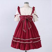Летнее платье с завышенной талией коротким рукавом и бантом