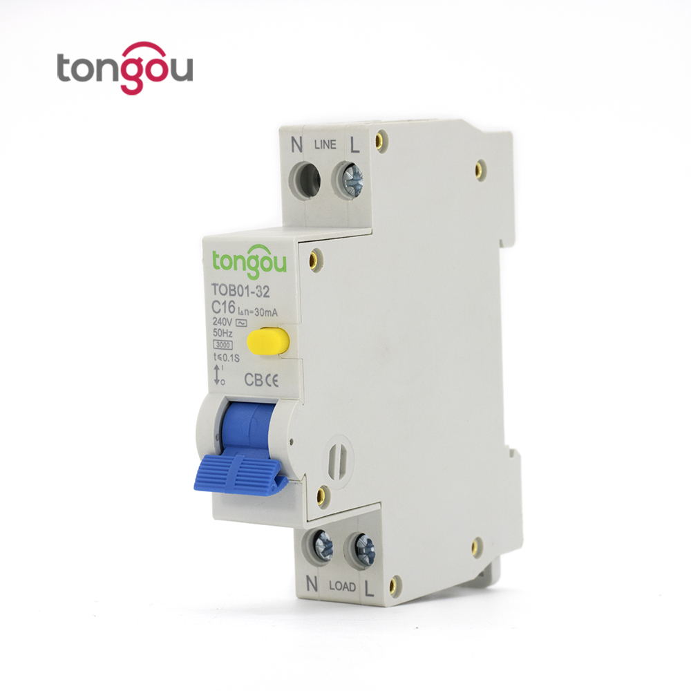 18mm Rcbo Elcb 16a 30ma 1p N Residual Current Circuit Breaker With Auto Parts Timer Wenzhou Buy Air Over And Leakage Protection In Breakers From Home Improvement On