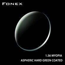 FONEX 1,56 1,61 1,67 1,74(+ 12,00~-12,00) по рецепту CR-39 смолы Асферические стекла линзы миопия, Гиперметропия дальнозоркость, оптические линзы