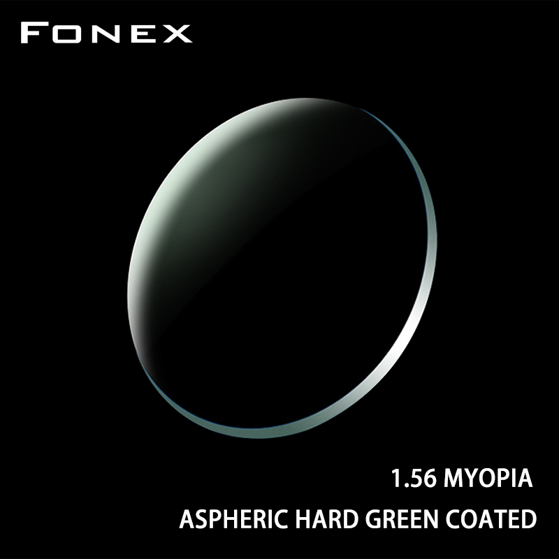 FONEX 1.56 1.61 1.67 1.74 (+12.00~-12.00) Prescription CR-39 Resin Aspheric Glasses Lenses Myopia Hyperopia Presbyopia Optical