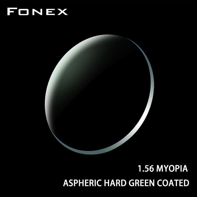 FONEX 1.56 1.61 1.67 1.74 (+12.00~-12.00) Prescription CR-39 Resin Aspheric Glasses Lenses Myopia Hyperopia Presbyopia Optical