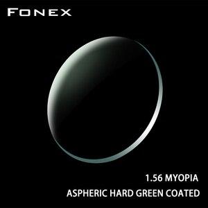 Image 1 - FONEX 1.56 1.61 1.67 1.74 (+12.00~ 12.00) Prescription CR 39 Resin Aspheric Glasses Lenses Myopia Hyperopia Presbyopia Optical