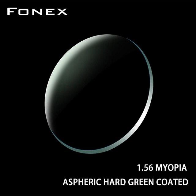 FONEX 1.56 1.61 1.67 1.74 (+12.00~ 12.00) Prescription CR 39 Resin Aspheric Glasses Lenses Myopia Hyperopia Presbyopia Optical