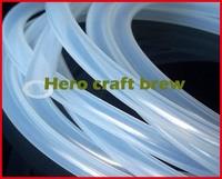 Hause brauen silikonschlauch 8*12 5 mt lebensmittelqualität hohe temperaturbeständigkeit silikonschlauch bier füllung würze transfer Hero crat gestellt brauen