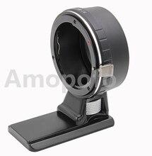 Amopofo AI-M4/3 Adaptador de Tripé, Para Nikon F Lens para Micro 4/3 OM-D G7 MFT e para Adaptador de Câmera GX7 Panasonic