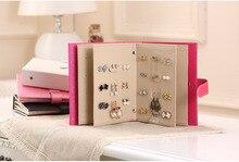 Portable Jewelry Page Jewel Display Creative Jewelry Storage Box