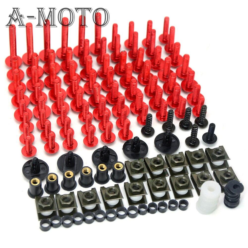 Accesorios de motos custom carenado tornillo parabrisas tornillo Para KTM 125 20