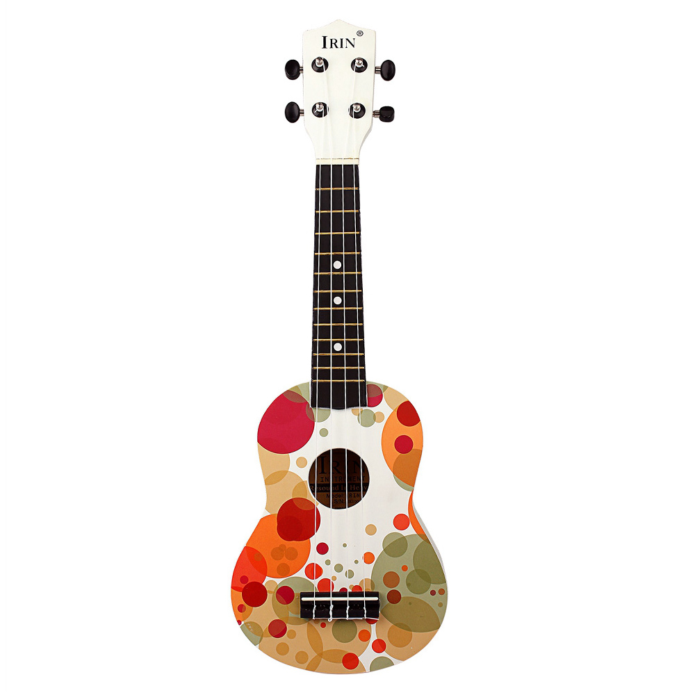 Ukulele Stringed Instruments Amicable Hot-irin Hot 21 Inch Ukelele Soprano Wooden Basswood Fingerboard Hawaii Acoustic Guitar Extremely Efficient In Preserving Heat