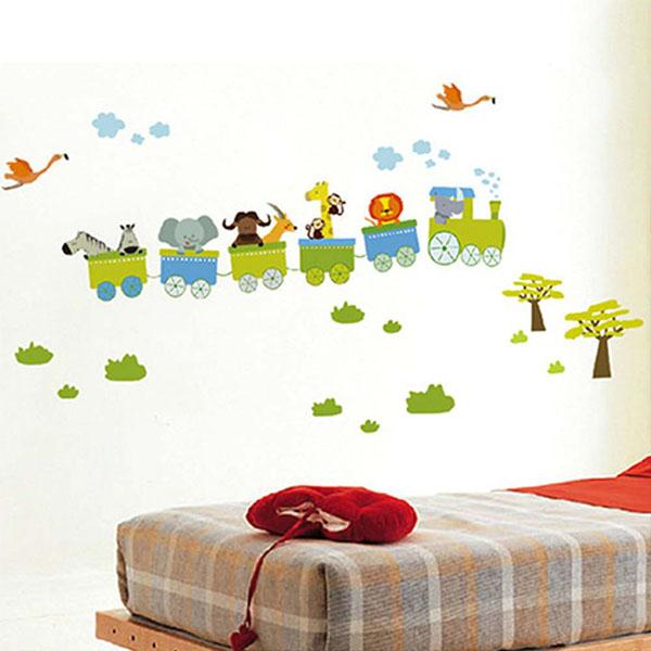Wonderful Online Shop New Removable Sticker Animal Roller Style Wall Stickers For  Nursery Boy Kids Baby Room Decor Vinyl Art Decal | Aliexpress Mobile Good Ideas